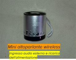 Altoparlante Mini Bluetooth Ws-633