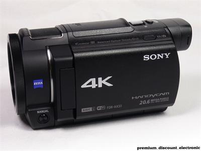 FDR-AX33 4K
