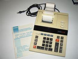 Calcolatore elettronico a stampa Casio DR-120S