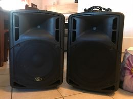 Casse audio attive XXL top 420-P
