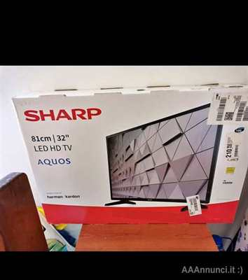 TV a led HD 32 pollici sharp
