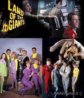 La Terra dei giganti telefilm anni 60 completo - Don Matheso