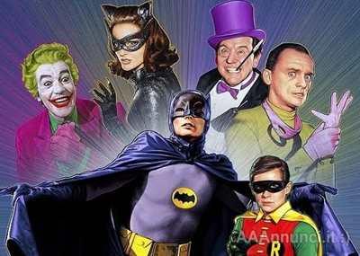 Batman & Robin serie televisiva completa anni 60