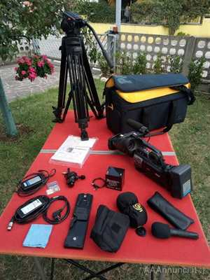JVC GY HM750 completa di viewfinder ottica CANON HDMP KT 14X