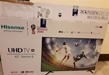 Hisense uhd tv 43 series 6
