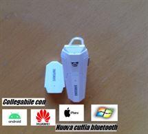 Auricolare Bluetooth Samsung k-5 con 2 battaria