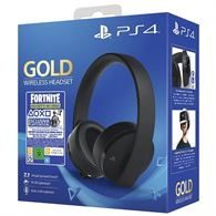 Cuffie PS4 gold wireless e fortnite 2.000 v-bucks