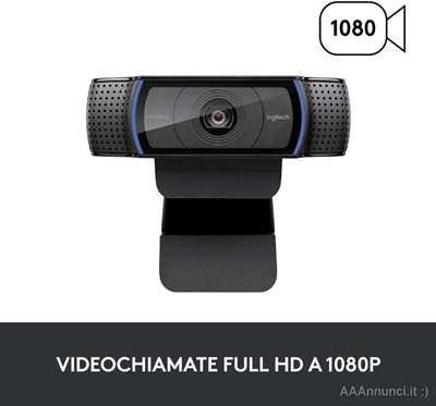Logitech C920 Full Hd, 30 fps